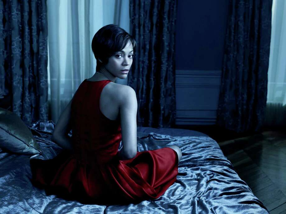 "Zoe Saldana plays the troubled Rosemary, in NBC's ""Rosemary's Baby,"" which debuts tonight. Photo: NBC / 2014 NBCUniversal Media, LLC"
