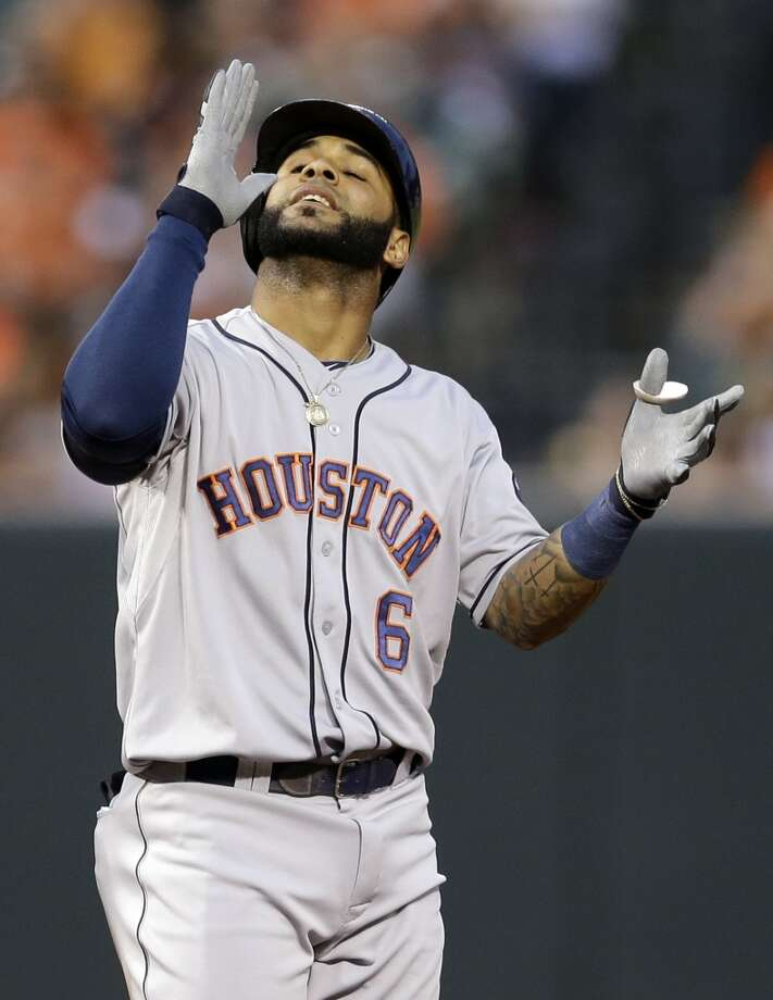 May 10: Orioles 5, Astros 4After Jonathan Villar scored the tying run for the Astros in the top of the ninth inning, rain just delayed the inevitable - a loss in extra innings at Baltimore.Record: 11-26. Photo: Patrick Semansky, Associated Press