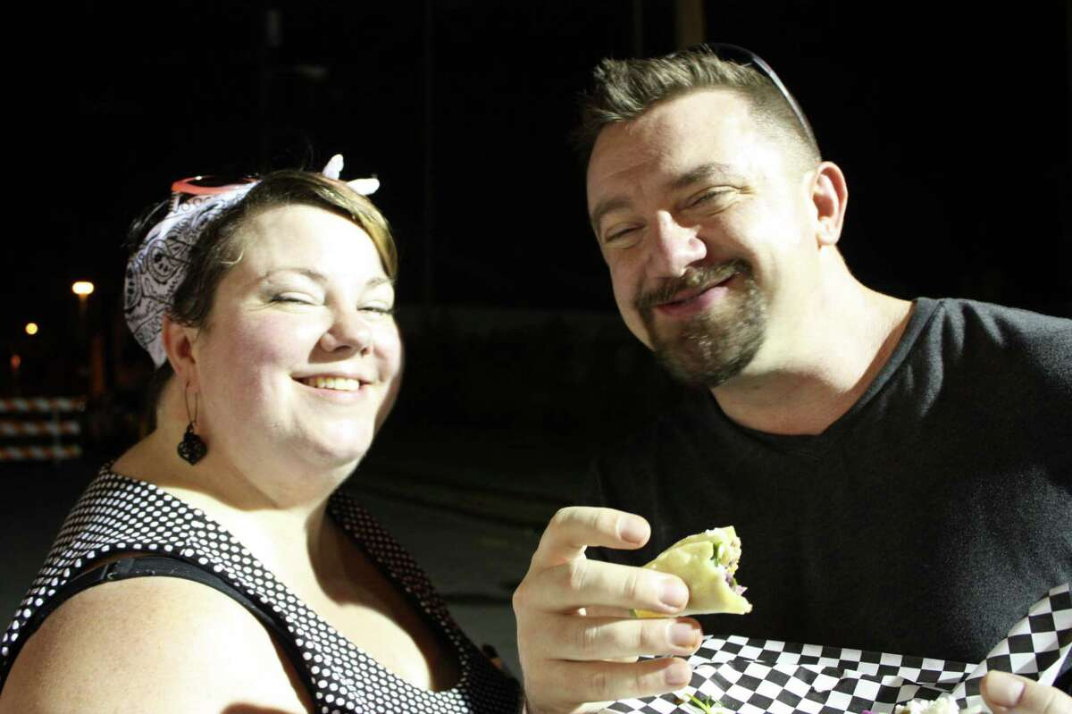 Hordes flocked to the fourth annual Twisted Taco Truck Throwdown to find out who had the best tacos on wheels.