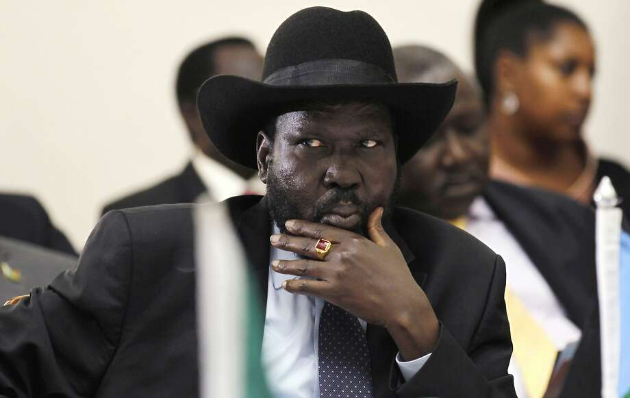 South Sudan President Salva Kiir signed a peace accord Friday, but fighting broke out Sunday. Photo: Pool, AFP/Getty Images