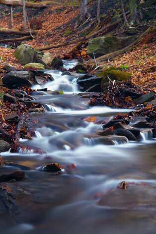 A small creek in Glenville that spend most of its life dried up comes to life in the spring .Peter Simmons of Burnt Hills took this 30-second exposure @ F8, ISO 400, 85mm with a variable ND filter for the smooth water.