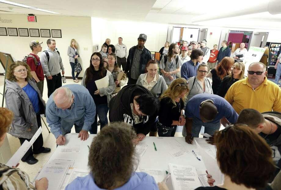 Overall Rank: 40City: PittsburghTotal Score: 54.31Job Market Rank: 58Socioeconomic Environment Rank: 11Source: WalletHub Photo: Mike Groll, Associated Press / AP