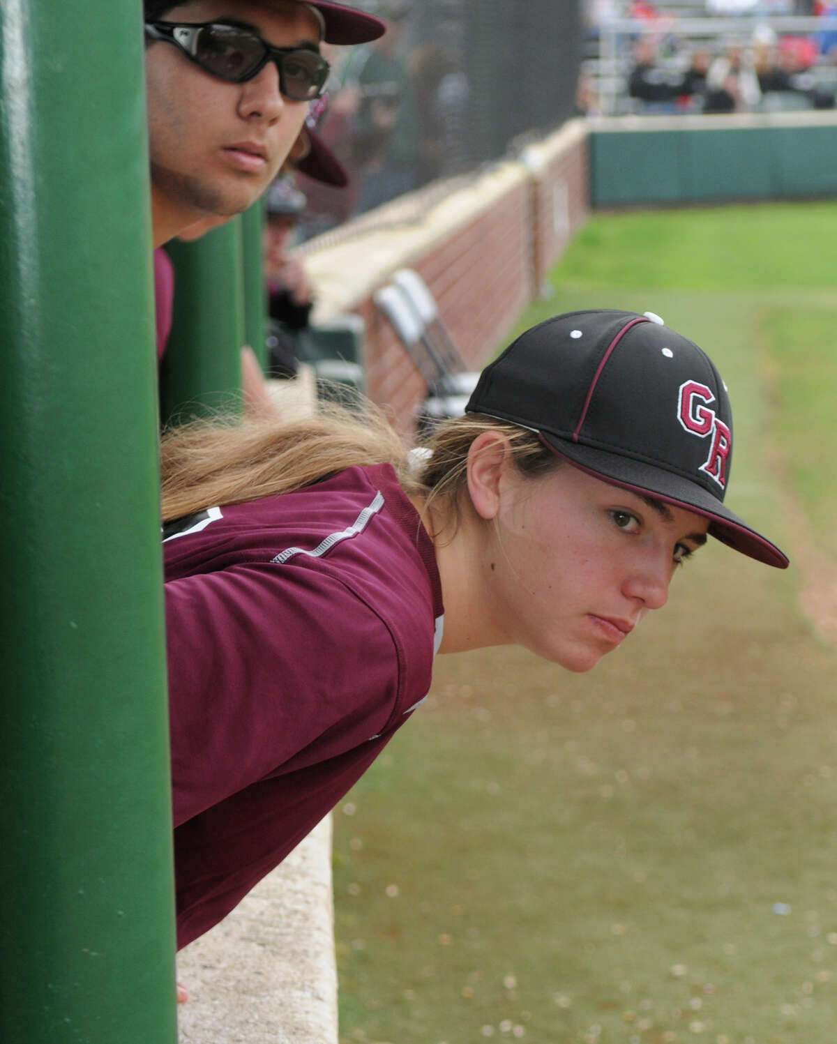 In the majors, they would call Sarah Hudek a crafty lefthander who relies on location and changing speeds to retire hitters.