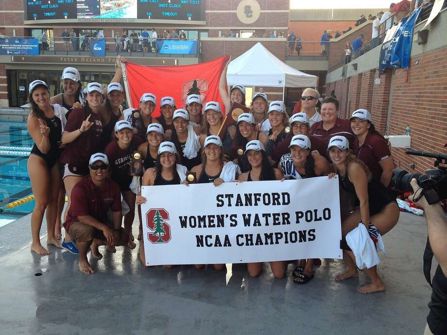 The Stanford women's water-polo team won its third NCAA title in four years. Photo: Stanford Athletics