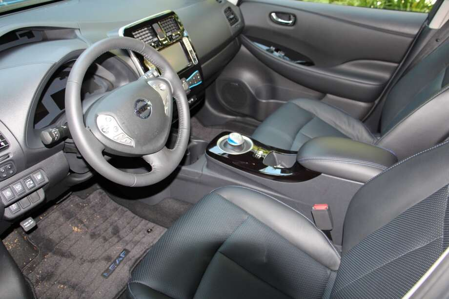 The seats are comfortable and there's enough room for driver and passenger.