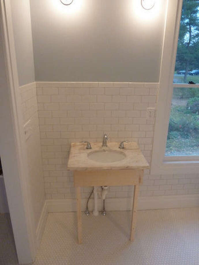 After: A new marble sink. Read more about this project. Photo: Joe Keegan