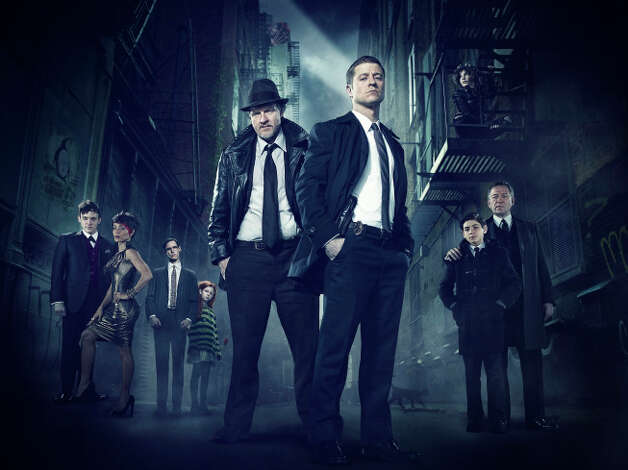 "GOTHAM: Mondays at 8 p.m. GOTHAM traces the rise of the great DC Comics Super-Villains and vigilantes, revealing an entirely new chapter that has never been told. From executive producer/writer Bruno Heller (""The Mentalist,"" ""Rome"") and starring Ben McKenzie (""Southland,"" ""The O.C.""), Jada Pinkett Smith (""Hawthorne,"" ""Collateral"") and Donal Logue (""Vikings,"" ""Sons of Anarchy""), GOTHAM follows one cop, destined for greatness, as he navigates a dangerously corrupt city teetering on the edge of evil, and chronicles the birth of one of the most popular super heroes of our time. Photo: FOX / 1"