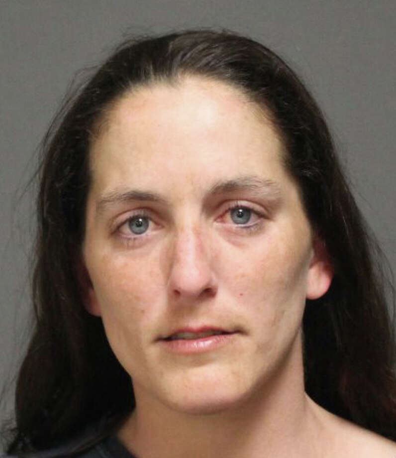 Nicole Vetto, 29, of Sterling Street, was arrested Sunday after kicking a hole in a bedroom door. Photo: Contributed Photo /  Fairfield Citizen contributed