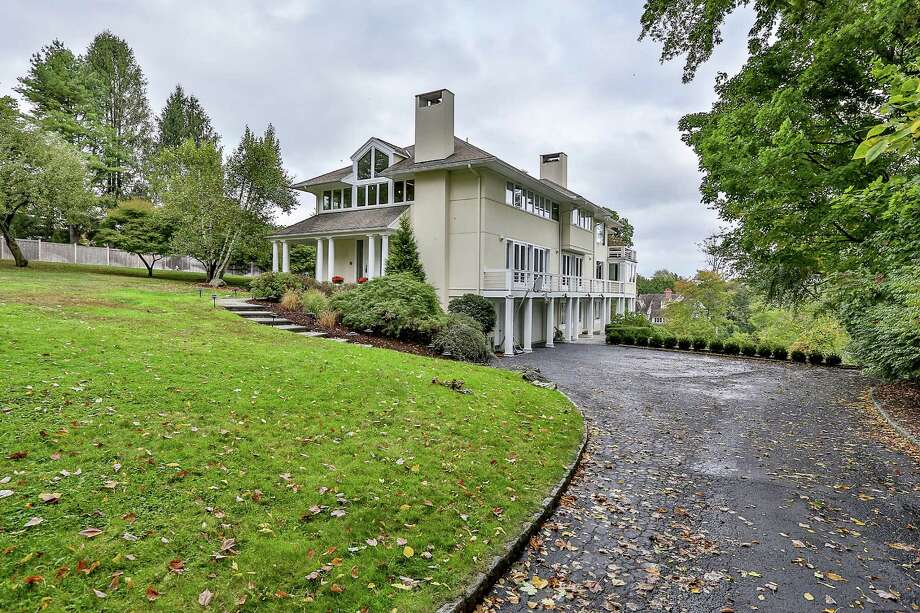 The house at 51 Turkey Hill Road South is on the market for $2,395,000. Photo: Contributed Photo / Westport News