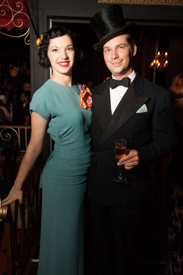 Guests at the Art Deco Society's Preservation Ball wore clothes inspired by the 1920s through 1940s. Photo: Devin Begley