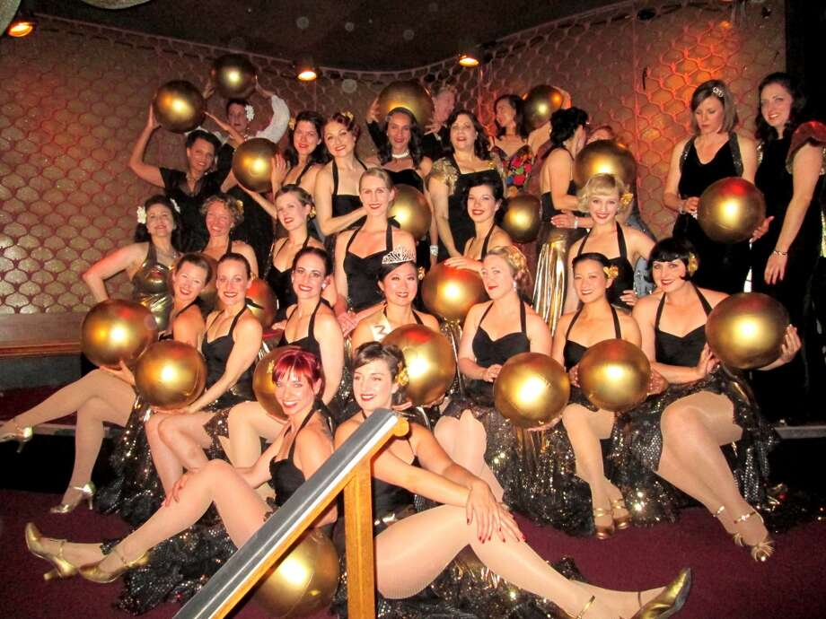 The Decobelles at the 30th Art Deco Society Preservation Ball. Photo: Jim Lipman