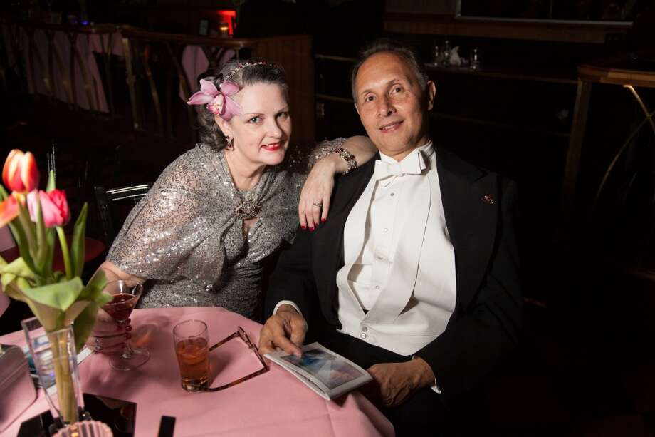 The Art Deco Society of California hosted the 30th Art Deco Preservation Ball at Bimbo's 365 Club on May 10. Photo: Devin Begley