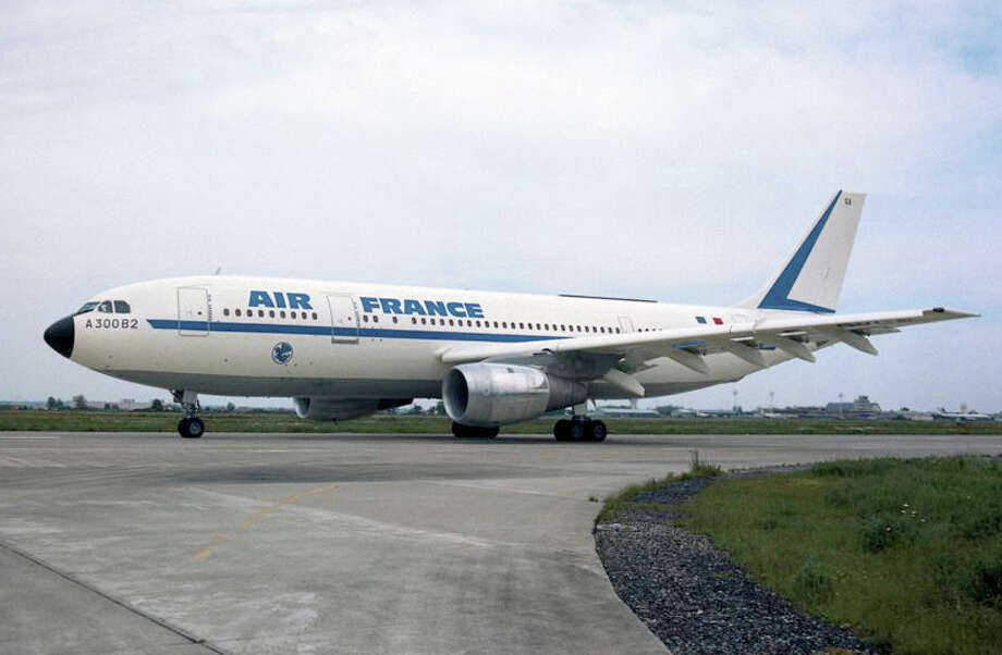Airbus' first aircraft, an A300B for Air France. Photo: Airbus