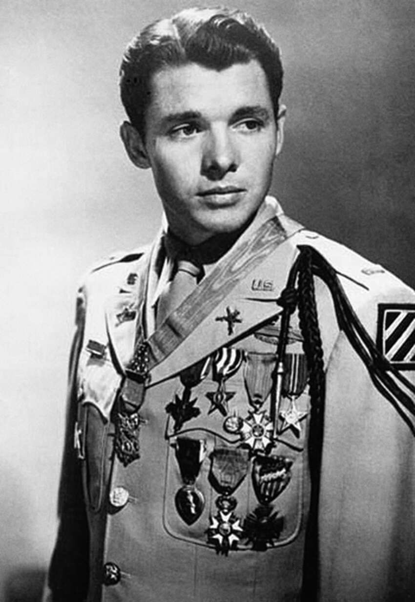 Audie Murphy - World War II Murphy was born in Kingston, a small rural town near Waco. He was one of the country's most decorated soldiers of WWII and was awarded every military award for valor from the U.S. Army.
