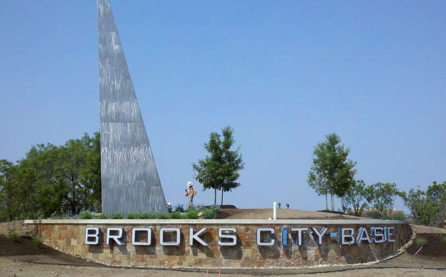 This is the entrance to Brooks City Base. Since 2005, the Brooks Development Authority has generated about $500 million in development at City Base. Photo: Courtesy Photo