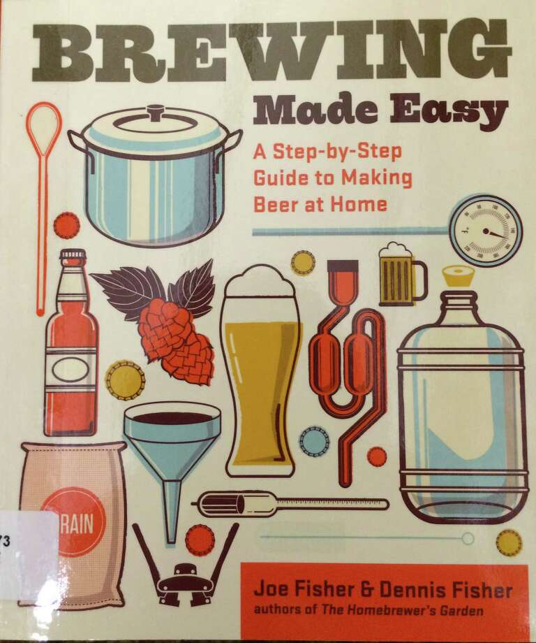 """Brewing Made Easy"" is a foolproof beginnerís guide to brewing great beer at home, says Greenwich Library's Sarah Falvo. Photo: Kate Petrov/Contributed Photo, Contributed Photo / Greenwich Time Contributed"