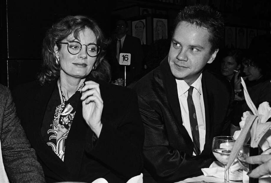 Tim Robbins played fellow pilot, Merlin. He was in a relationship with Susan Sarandon for 21 years. Photo: Catherine McGann, Getty / 2009 Catherine McGann