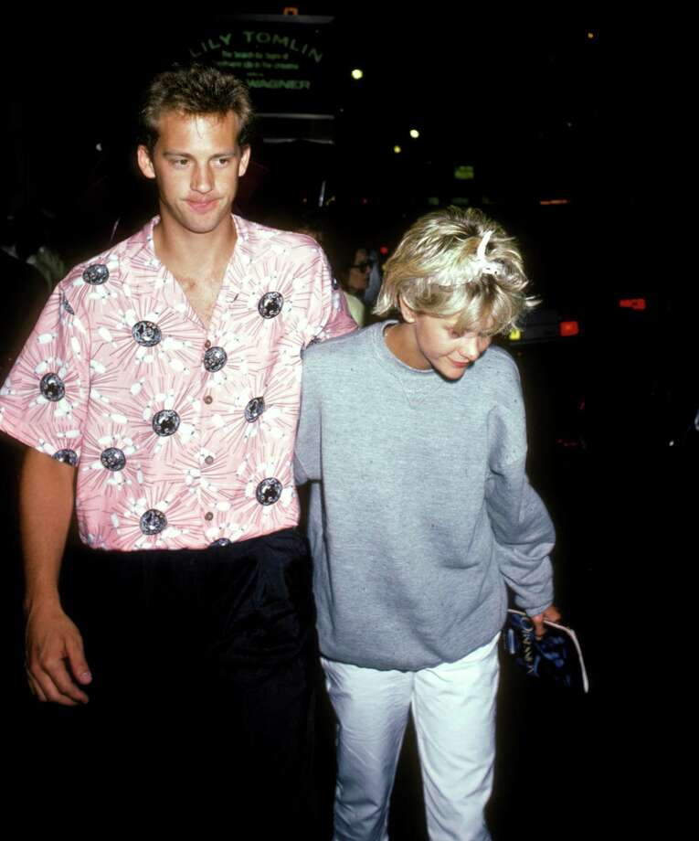 "Anthony Edwards and Meg Ryan dated for a while in real life. Of course, she since became known for ""When Harry Met Sally,"" ""Joe Versus the Volcano,"" ""Sleepless in Seattle,"" ""When a Man Loves a Woman,"" ""City of Angels"" and ""You've Got Mail."" She also played Jim Morrison's wife alongside Val Kilmer in ""The Doors."" Photo: Ron Galella, Getty / Ron Galella Collection"
