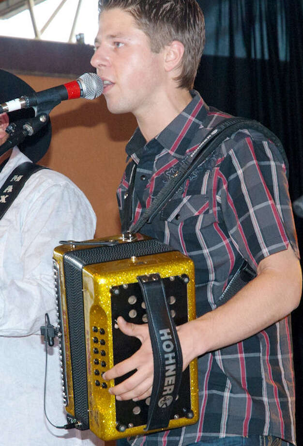 Dutch accordionist Dwayne Verheyden makes a return visit to the festival. Photo: Courtesy Mario Perez