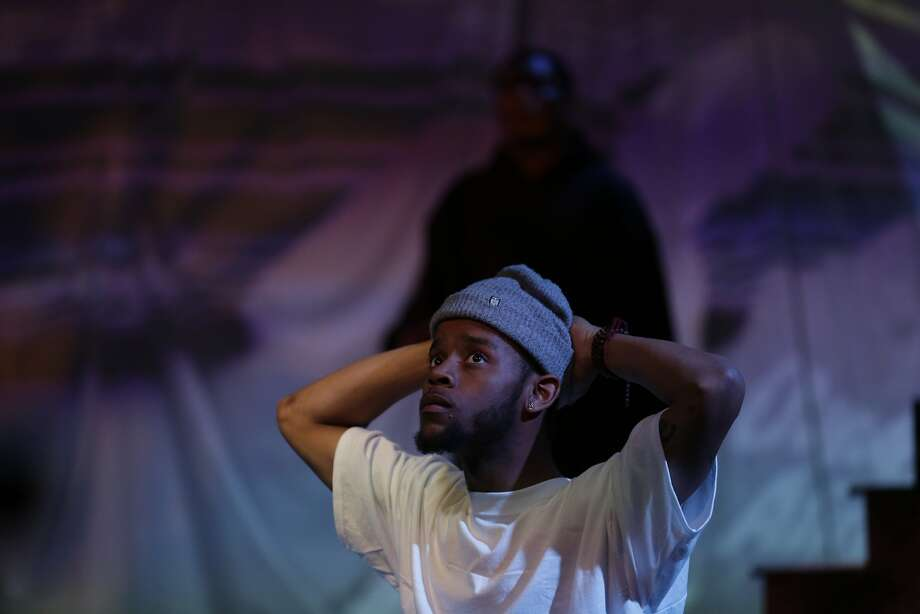 "Michael Wayne Turner III plays the lead character, Watts, in Chinaka Hodge's ""Chasing Mehserle."" Photo: Eli Jacobs-Fantauzzi"
