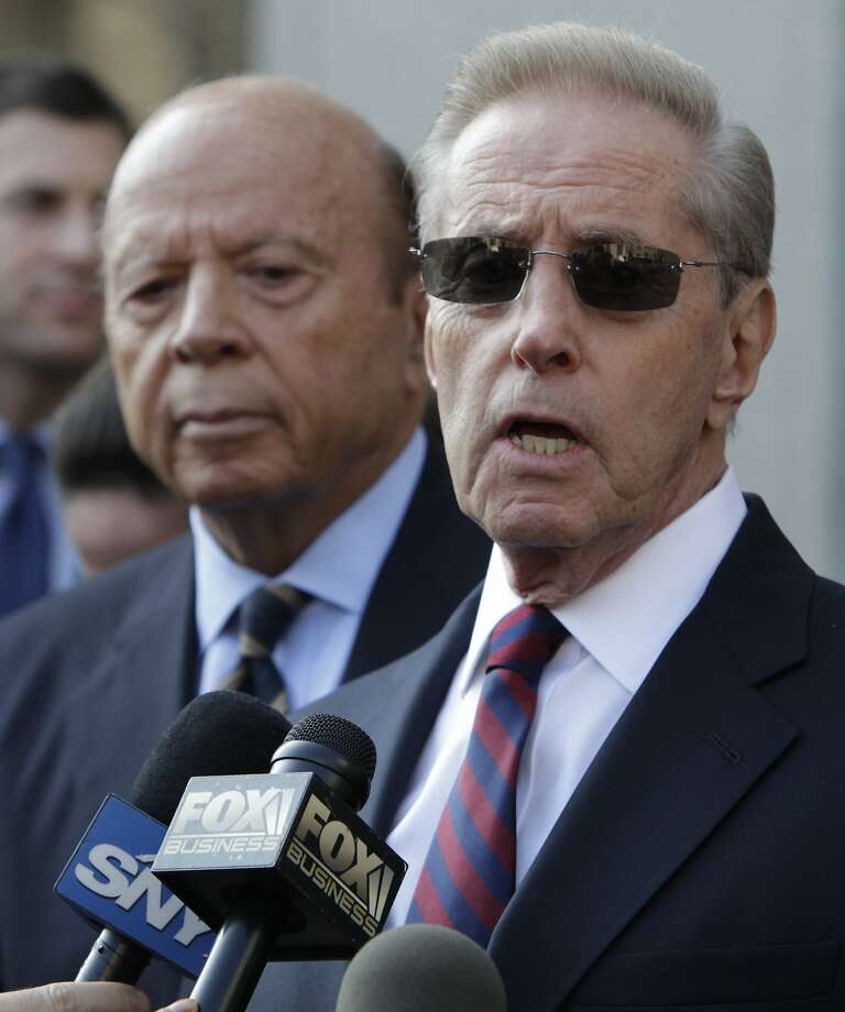 The Mets denied a report that Saul Katz (left) wants to sell his share of the team. Photo: Seth Wenig, Associated Press