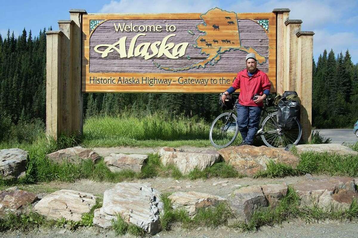 Chandler Wild arrives in Alaska.