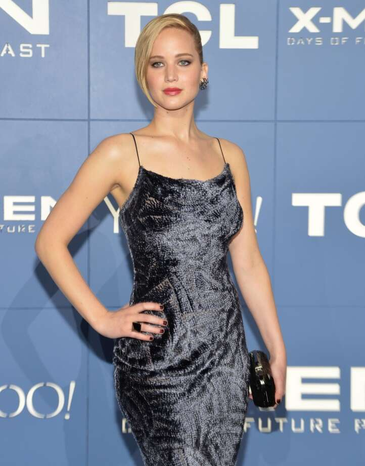 #12 Jennifer Lawrence  Photo: Mike Coppola, Getty Images