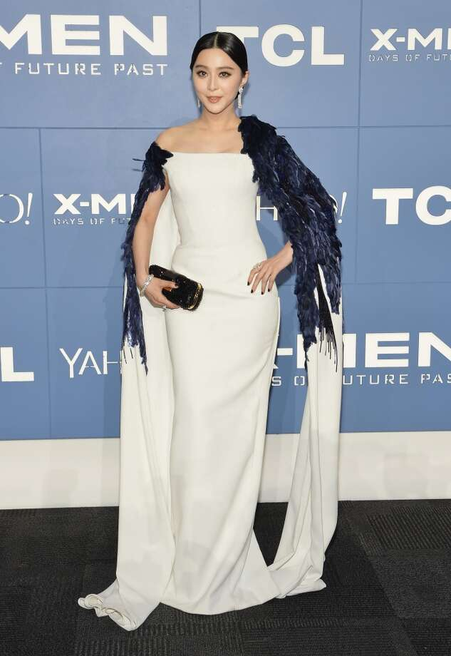 "Actress Fan Bingbing attends the ""X-Men: Days Of Future Past"" world premiere at Jacob Javits Center on May 10, 2014 in New York City. Photo: Mike Coppola, Getty Images"