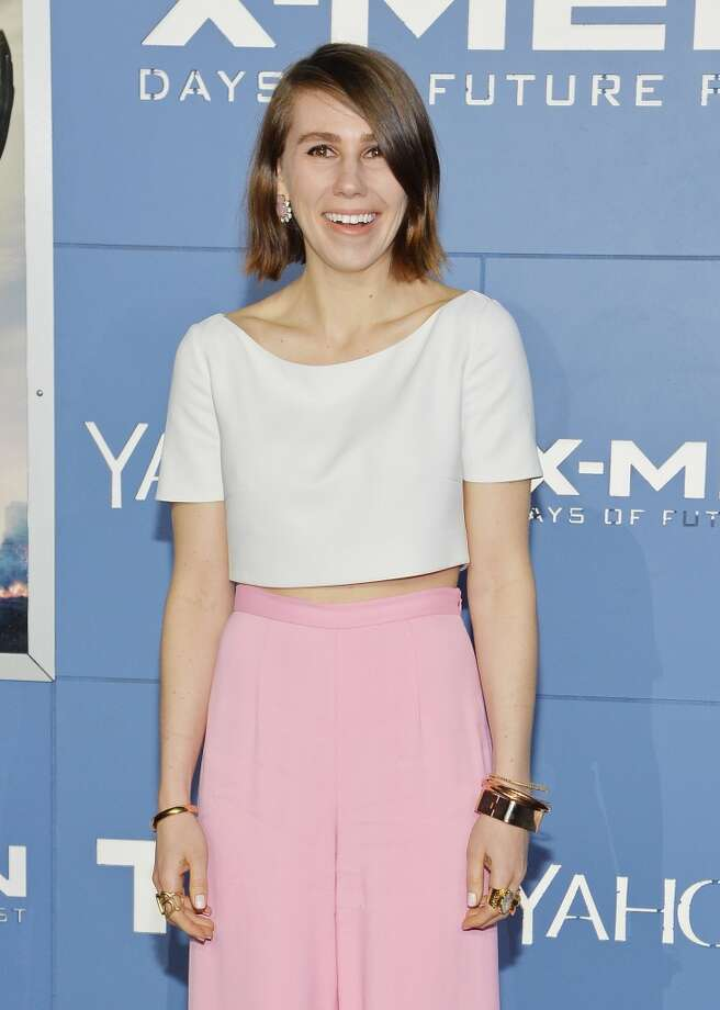 "Zosia Mamet attends the ""X-Men: Days Of Future Past"" world premiere at Jacob Javits Center on May 10, 2014 in New York City. Photo: Mike Coppola, Getty Images"