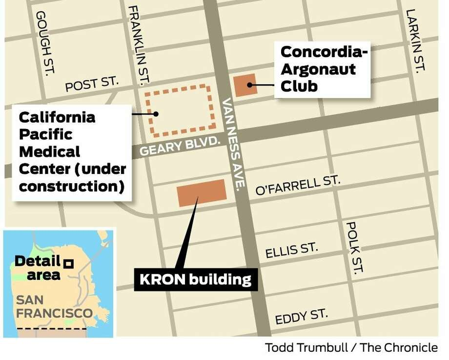 Kron 4 Fire Map.Kron Sells Van Ness Building Housing Coming Sfgate