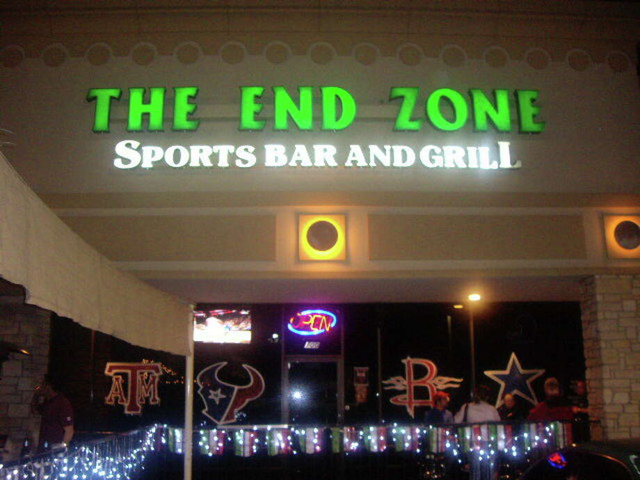 "Take a look at this sign, because you won't see it around much longer. The End Zone is now called Houston Sports Hub, thanks to a makeover by Spike TV's ""Bar Rescue."""