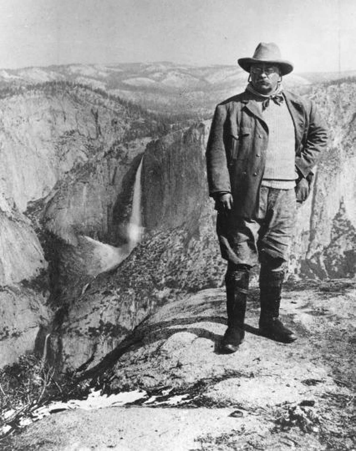 Theodore Roosevelt used the 1906 Antiquities Act to create the Olympic and Grand Canyon national monuments, which later became two of America's greatest national parks.  Miners and loggers furiously opposed his decisions.