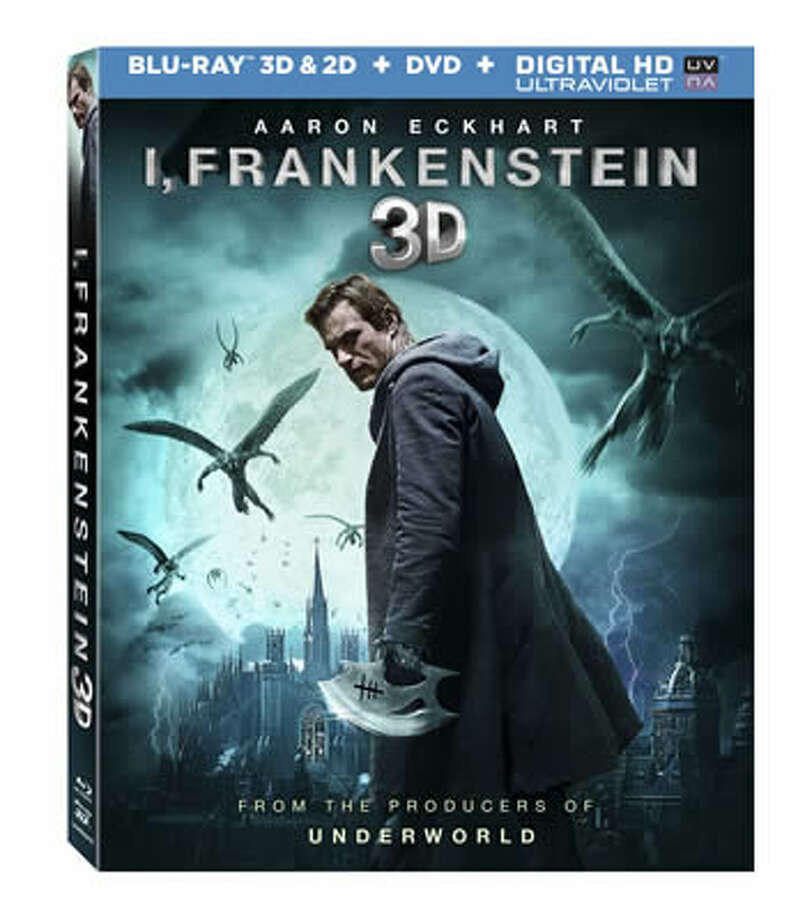 "3DBD/BD/DVD cover of ""I, Frankenstein"" Photo: Lionsgate Home Entertainment, 2014"