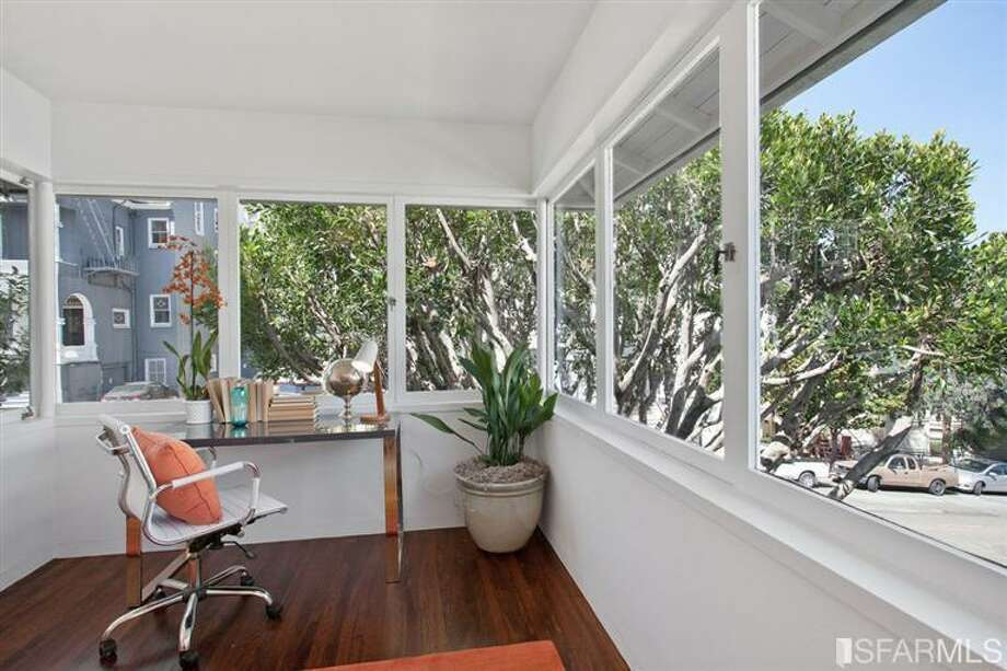 The second bedroom also has an alcove that could serve as an office. Photo: SF Properties