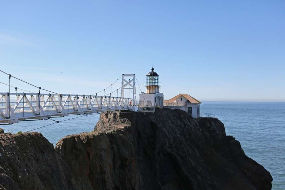 ... hike south from Rodeo Beach to the Point Bonita Lighthouse in the Marin Headlands. Just note that the tunnel to the lighthouse is only open on Saturdays, Sundays and Mondays from 12:30 to 3:30 p.m.Check the National Park Service websitefor schedule changes. Photo: Rashad Sisemore, The Chronicle