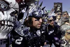 "Experience a Raiders game from The Black Hole. ""Don't let the people and costumes scare you, they're actually quite friendly and it really is a lot of fun,"" says commenter Arthur_Spooner."