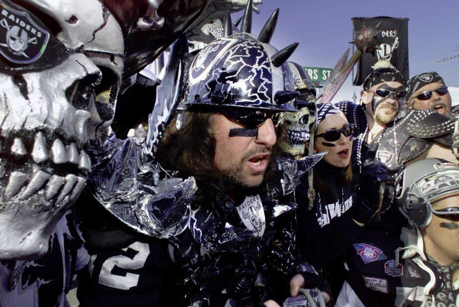 "Experience a Raiders game from The Black Hole. ""Don't let the people and costumes scare you, they're actually quite friendly and it really is a lot of fun,"" says commenter Arthur_Spooner. Photo: FREDERIC LARSON, SFC"
