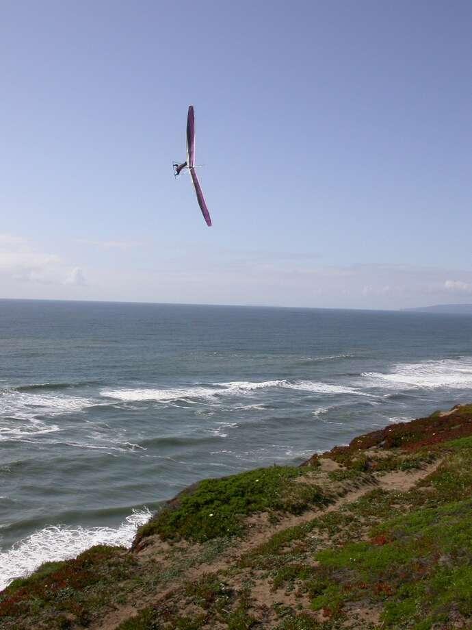 Feeling brave?  Go hang gliding at Fort Funston.