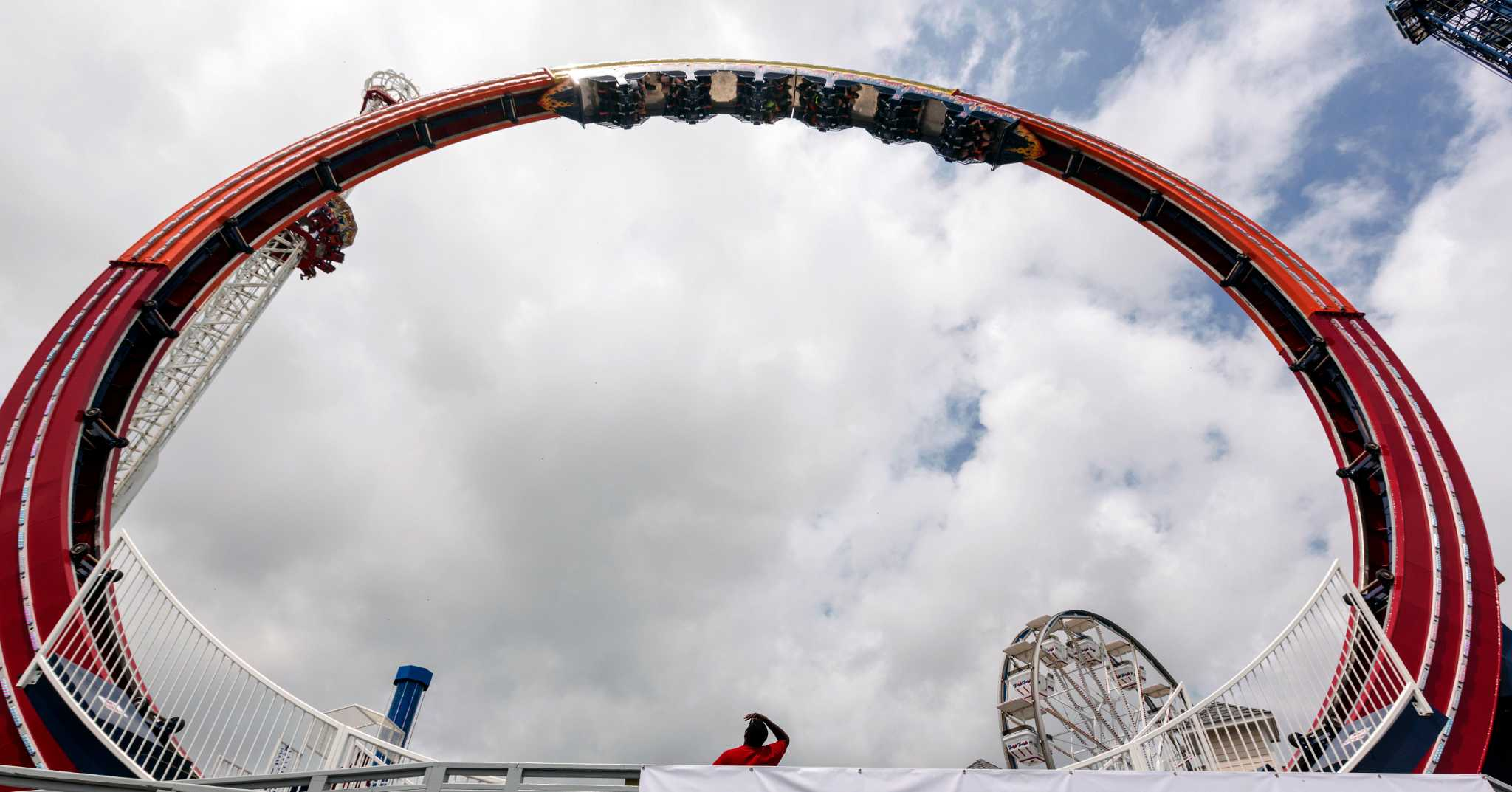 New Kemah Ride Is First Of Its Kind In Texas One Three World San Antonio Express News