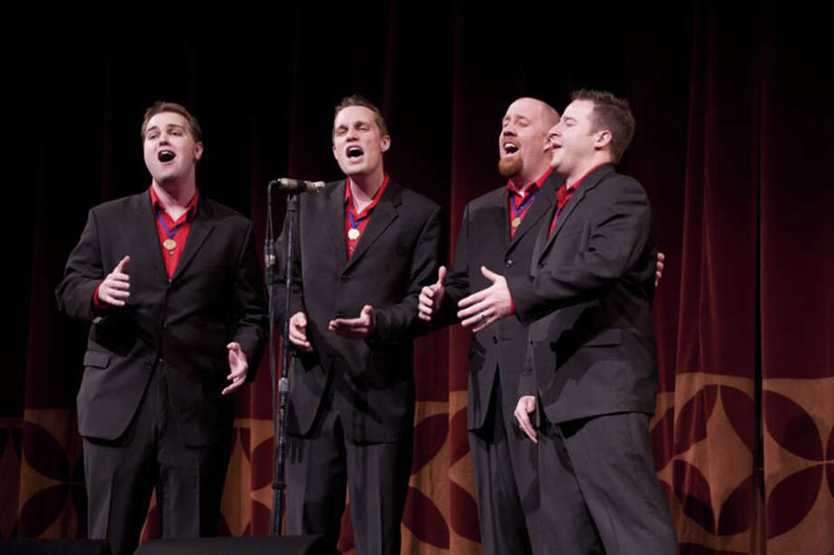 Vocal Spectrum will be the featured guest Saturday when the Danbury Mad Hatter Chorus presents its annual show. Find out more.  Photo: Contributed Photo / The News-Times Contributed