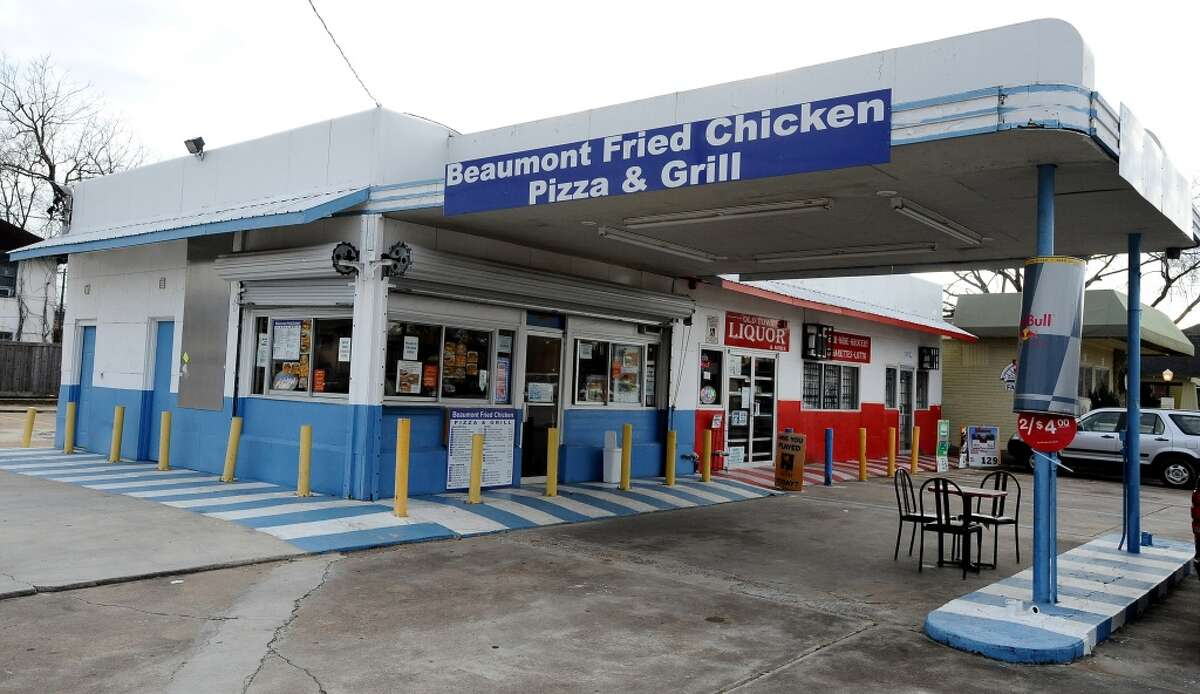 BEAUMONT FRIED CHICKEN PIZZA & GRILL  2305 Calder Ave., Beaumont Note: Now Chapa's Tamales, which opened in May 2016