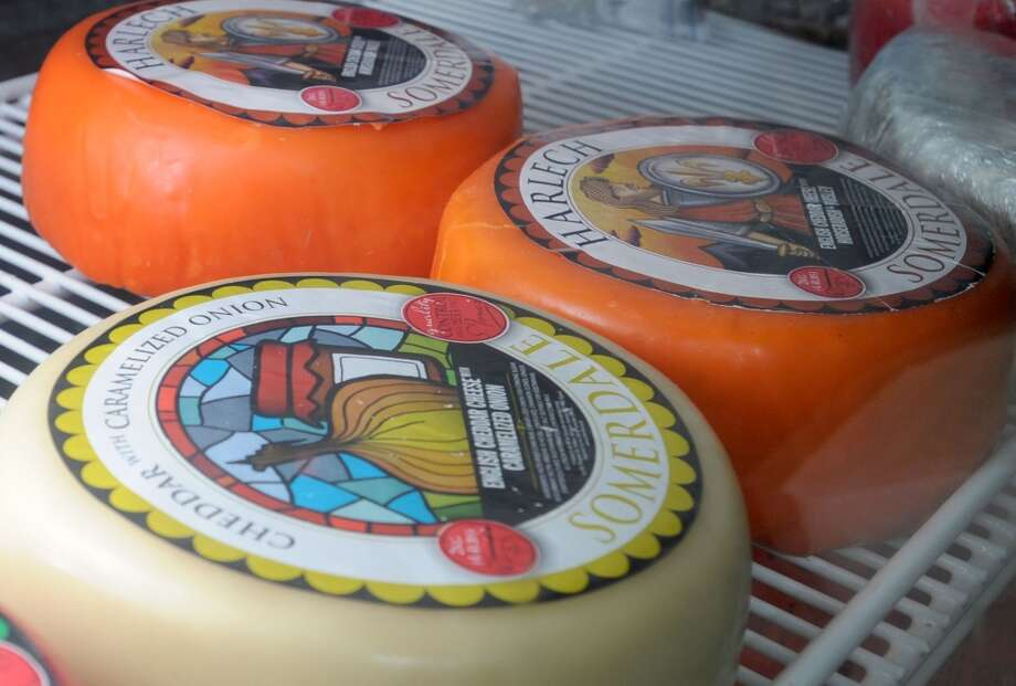 Fine cheeses at Abbie's Import's in Beaumont 5335 Fannett Road Photo taken Wednesday, July 8, 2012 Guiseppe Barranco/The Enterprise Photo: Guiseppe Barranco, Guiseppe Barranco/The Enterprise