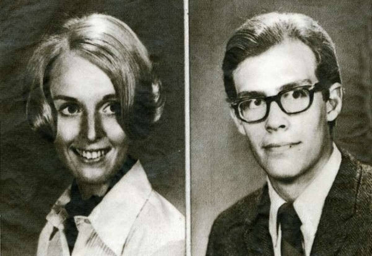 Cecelia Shepard, left, and Bryan Hartnell were stabbed by a hooded assailant in September 1969. The assailant was suspected to be the Zodiac Killer.