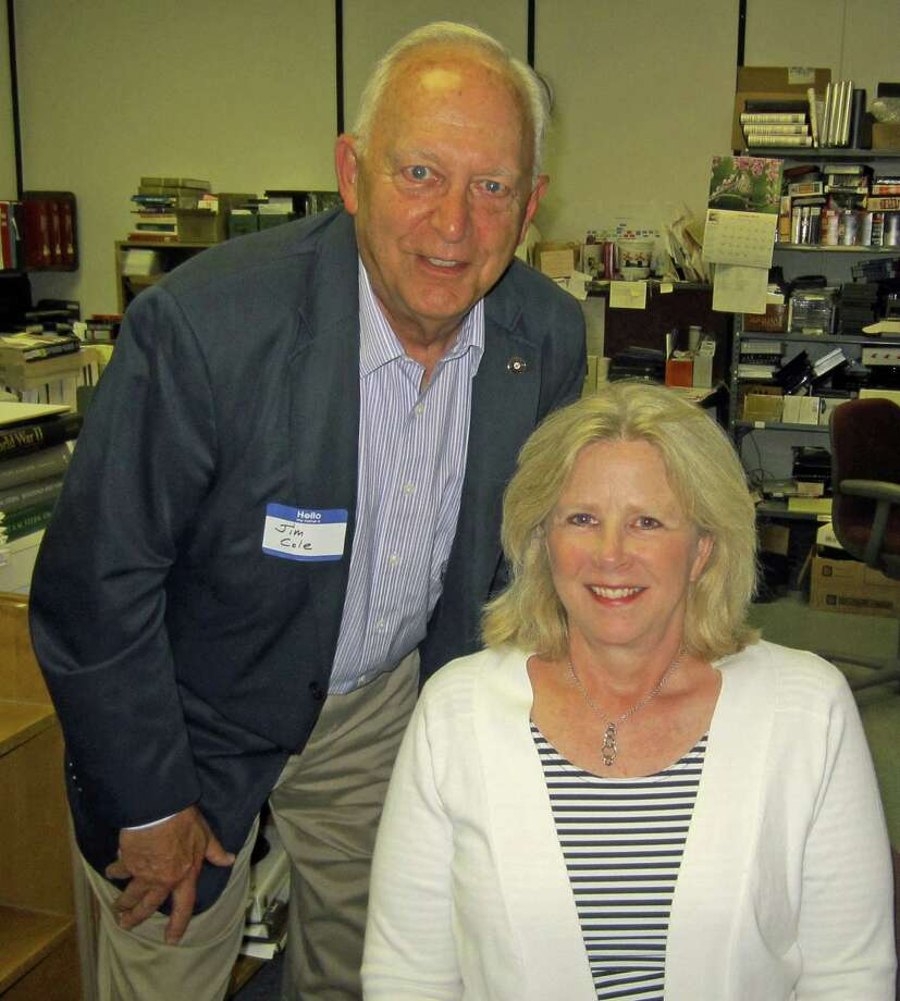 Jim Cole and Stacey Hafen, both residents of New Canaan, will lead a discussion on personal preparadness at Staying Put's annual meeting Sunday, May 18. Photo: Contributed Photo, Contributed / New Canaan News Contributed