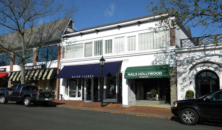The building that houses Ralph Lauren and Nails Hollywood on Elm Street in New Canaan, Conn., was sold Friday, May 9, 2014, for $7.6 million. Photo: Contributed Photo, Contributed / New Canaan News Contributed