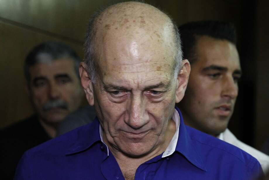 Ehud Olmert served as prime minister from 2006 to 2009. Photo: Finbarr O'Reilly, Associated Press