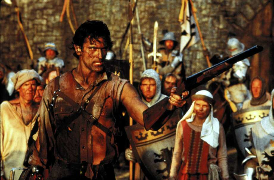 """Army of Darkness"" -- the third in director Sam Raimi's stylish, comic book-like horror trilogy that began with ""The Evil Dead"" -- will be screened as part of Avon Theatre's Cult Classics series on Tuesday, May 27. Photo: Contributed Photo / Connecticut Post Contributed"