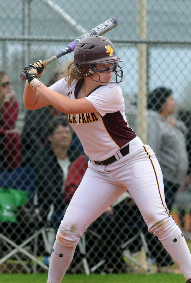 Deer Park junior Rhonda Jarvis has been solid at the plate as the Lady Deer get set to face Seven Lakes this weekend in the Region III-5A semifinals.. Photo: Jerry Baker, Freelance