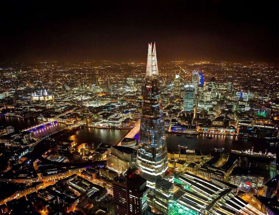 """Renzo Piano's London Bridge Tower -- better known as """"the Shard"""" -- is the tallest building in Western Europe at 1,0004 feet. It includes offices, housing and a hotel -- all of which are elements of the decidedly more horizontal San Ramon City Center now being designed by Renzo Piano Building Workshop. Photo: Shangri-La Hotels And Resorts"""