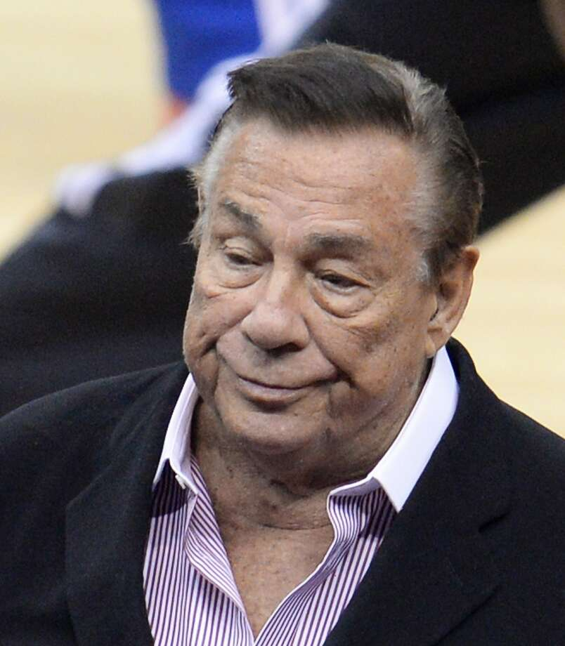Donald Sterling launched an attack on Magic Johnson and drew NBA condemnation. Photo: Robyn Beck, AFP/Getty Images